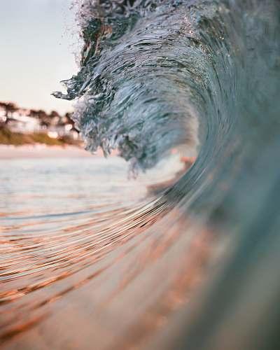 water closeup photo of sea wave nature