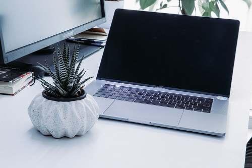 electronics turned off MacBook pro laptop