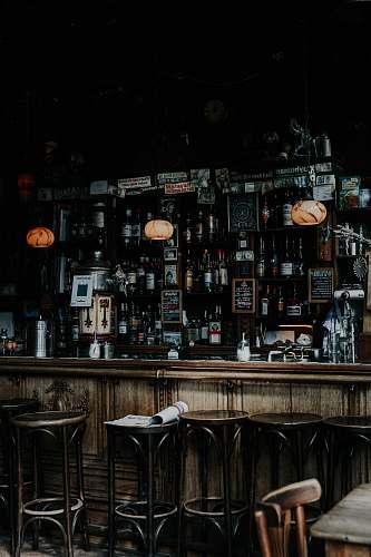 chair vintage bar station amsterdam